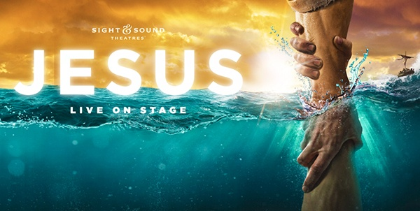 Jesus Live on Stage show poster