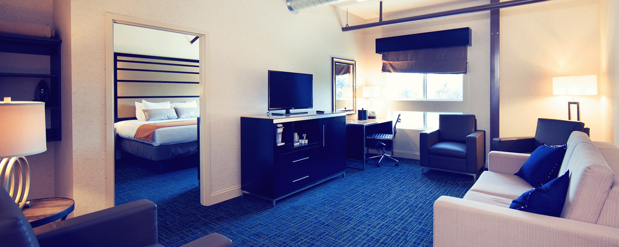 room suites at Warehouse Hotel