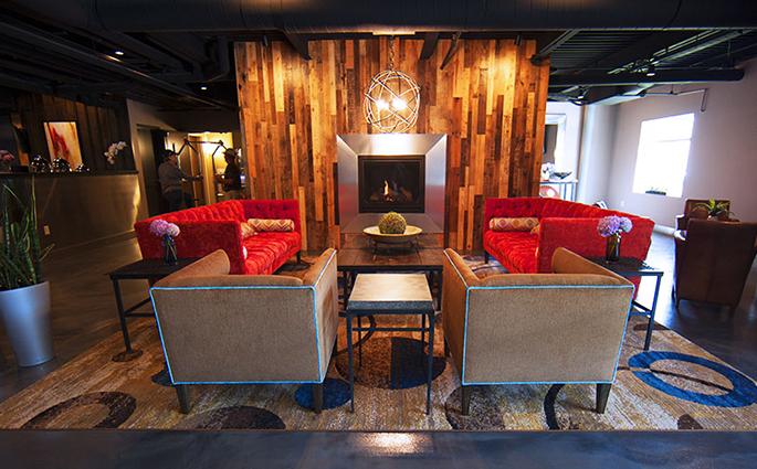 Warehouse Hotel lounge