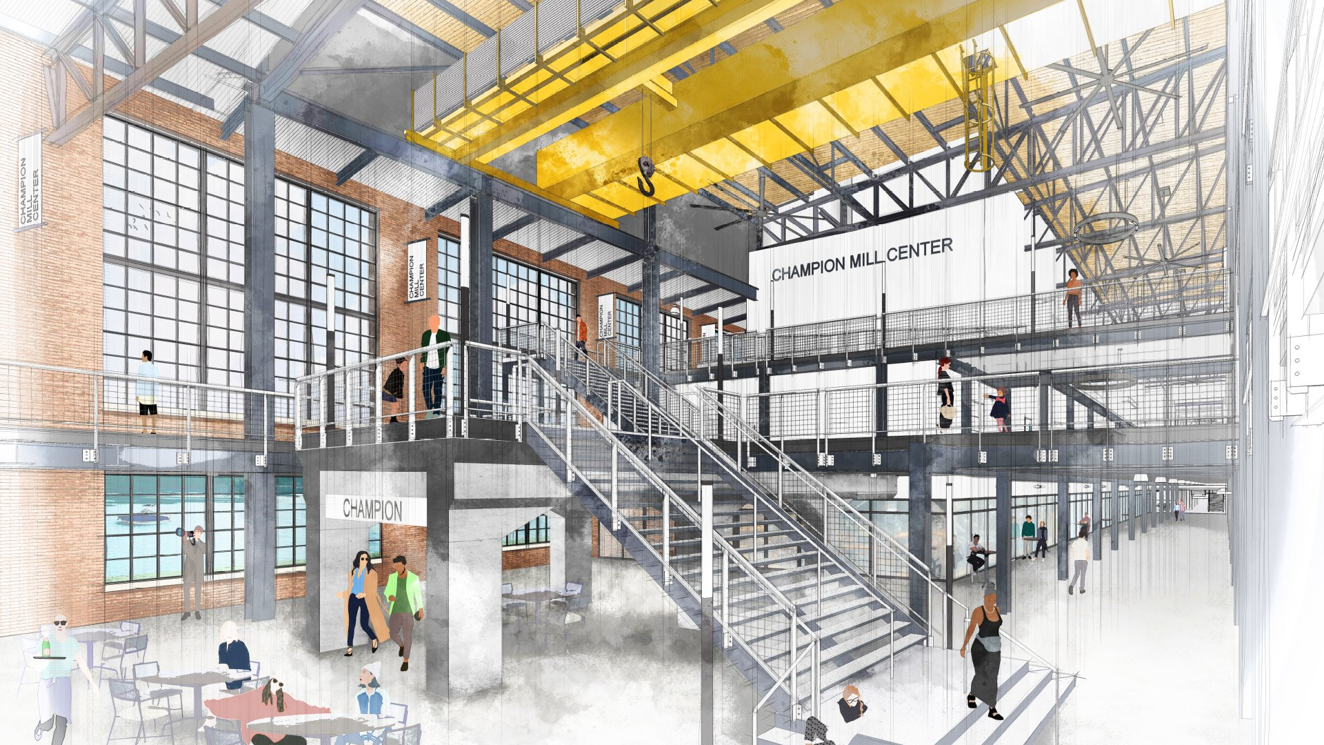 State of City 2019 Slide Deck_0010_Champion Mill No_ 2 - Renderings Meetings